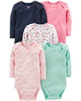 Moon and Back Baby Set of 5 Organic Sleeveless...