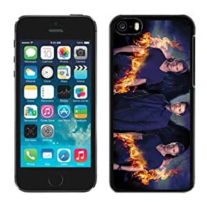 Grace Protactive Iphone 5c Case Design with Supernatural Black Cell Phone Case for Iphone 5c