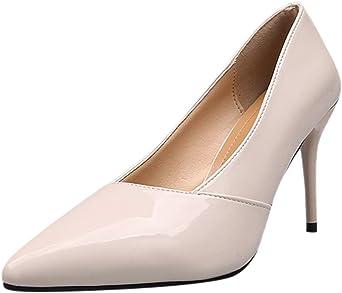 foshsh Scarpe Donna Tacchi, Scarpe da Donna Eleganti con