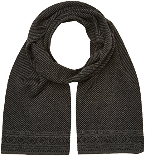 Dale of Norway Unisex Harald Scarf Black One Size by Dale of Norway