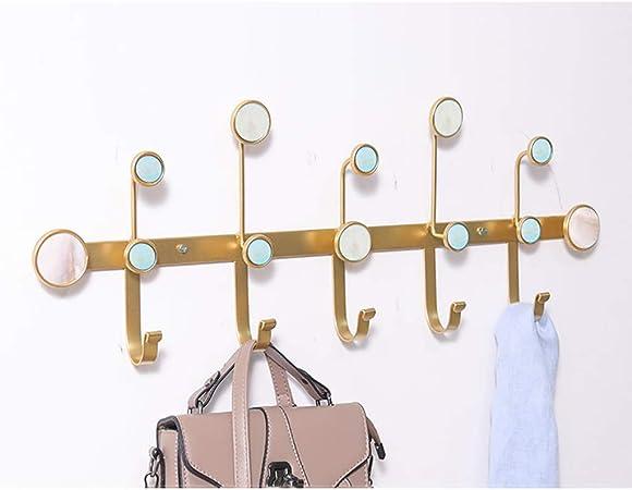 Appendiabiti a Parete Semplice Colore con Ganci Multi-Funzionale creativit/à DOT Iron Art Hook Up Colore : Nero, Dimensioni : S. Cappotto Decor Wall e Cappello Rack per Ingresso Foyer Corridoio