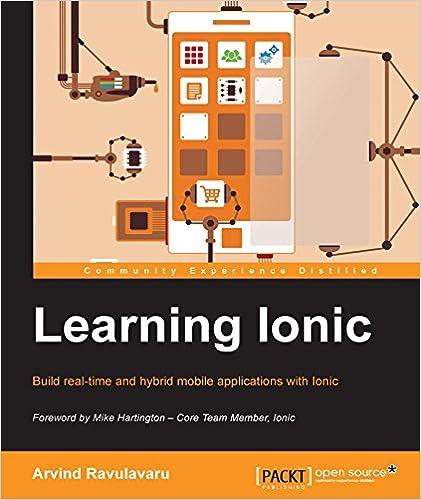 Amazon com: Learning Ionic - Build Hybrid Mobile