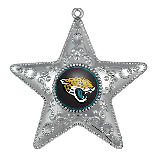 NFL Jacksonville Jaguars Silverstar Ornament