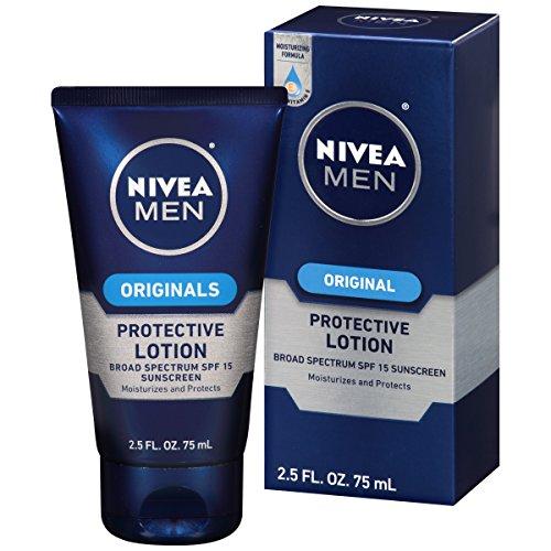 NIVEA Men Original Protective Lotion 2.5 Fluid Ounce (Pack of 4)