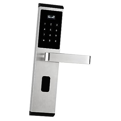 Homyl Cerradura de Puerta con Huella Digital Puerta Cerradura Biométrico Teclado Seguridad de Hogar Control Acceso