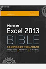Excel 2013 Bible Kindle Edition