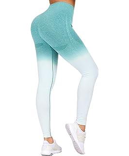 Amazon.com: BLINGLAND Womens Yoga Pants High Waisted Running ...