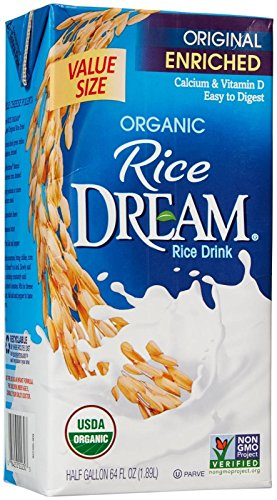 - RICE DREAM Enriched Original Organic Rice Drink, 64 Fluid Ounce
