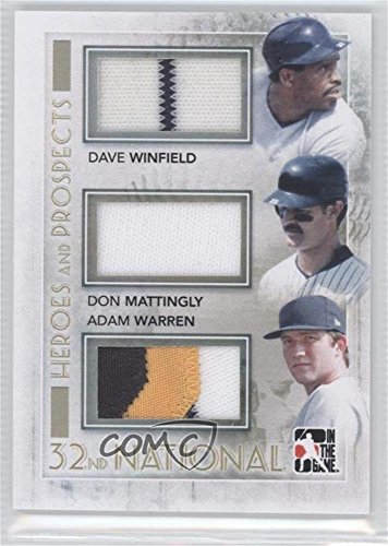 Amazoncom Dave Winfield Don Mattingly Adam Warren Baseball Card