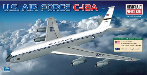 Minicraft Models C-137C-18A USAF, NATO 1/144 Scale