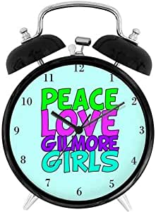 Amazon.com: 22yiihannz Desk Clock 4in Gilmore Girls Love ...
