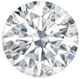Arya's C [USA SELLER] ROUND Cut Loose Real Moissanite, Use for Pendant/Ring Genuine Near White Color, 1ct to 3ct, Near white, moissanite, Why pay so high when you get same quality for less, (2)