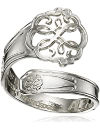 Spoon Path of Life Ring, Size 7-9