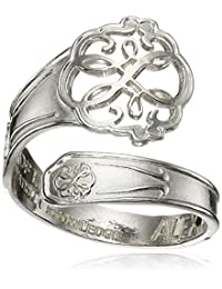 Alex and Ani Spoon Path of Life Ring, Size 7-9
