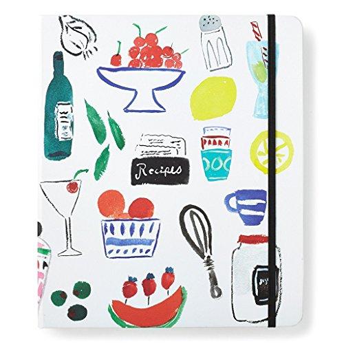 Kate Spade New York Recipe Book, White by Kate Spade New York