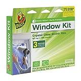 Duck Brand Indoor 3-Window Shrink Film Insulator Kit, 62-Inch x 126-Inch 291066 (3 Pack)