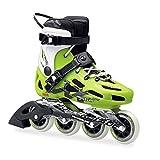 Rollerblade Men's Maxxum 84 Skates Green 29.5 & Headband Bundle