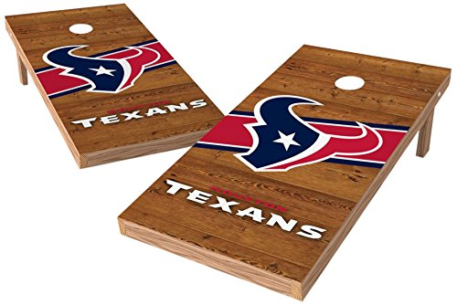 PROLINE NFL Houston Texans 2'x4' Cornhole Board Set with Bluetooth Speakers - Logo Design by PROLINE