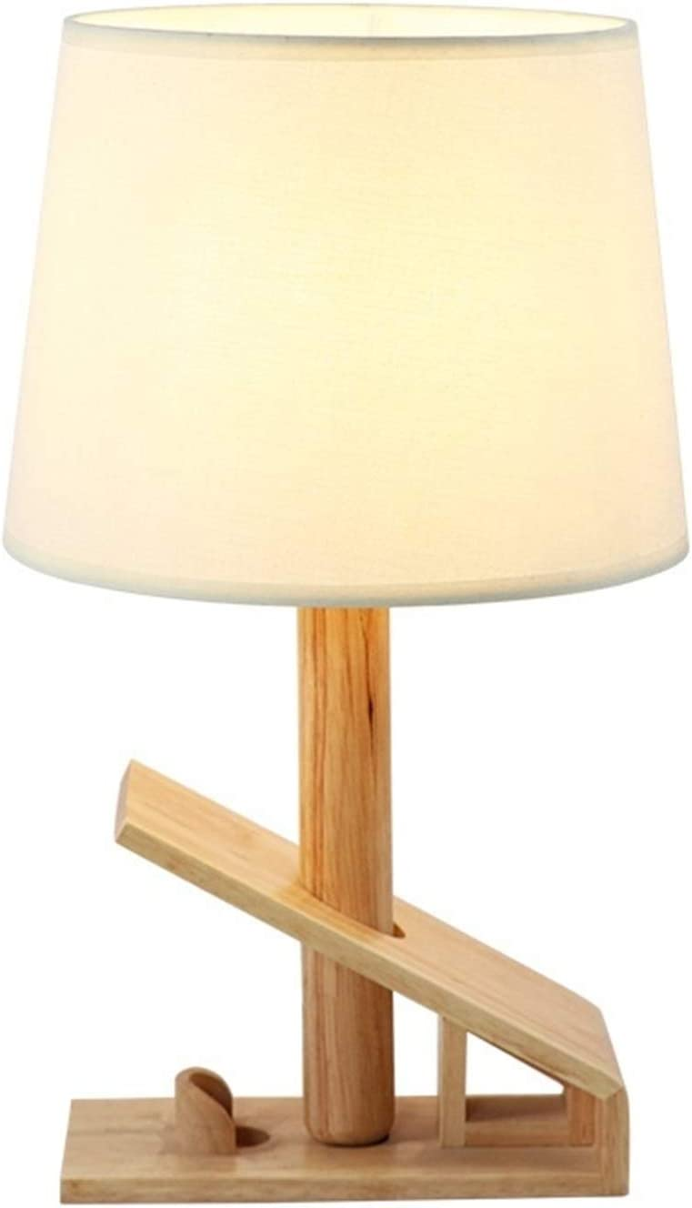 Amazon Com No Logo Chandelier Nordic Wood Flax Natural Table Lamp Modern Unique Cafe Bar Desk Lamp Bedroom Bedside Study Hotel Decoration Table Lights Tatcuican Home Kitchen