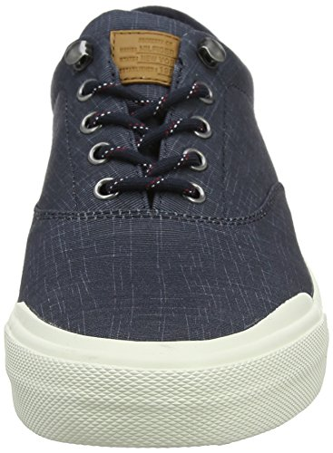 Hilfiger Up 403 Midnight Sneakers Canvas Washed Homme Basses Tommy Heritage Lace Bleu fOHdqOXw