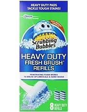 Scrubbing Bubbles Fresh Brush Refill, 8 Total Refills citrus scent.