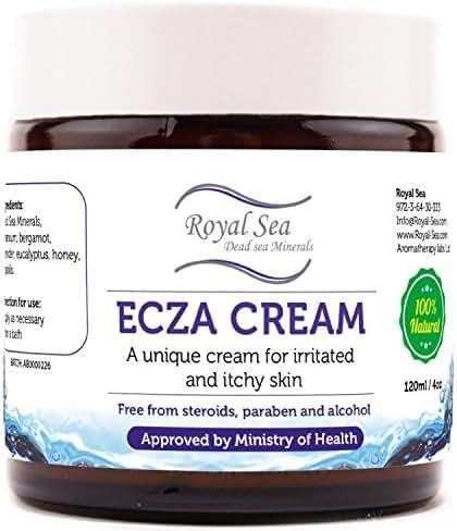Royal Dead Sea Eczema Anti Itch Cream (4 OZ) Dermatitis Treatment