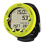 SUUNTO Zoop Novo Wrist Scuba Diving Computer, Lime, Without USB