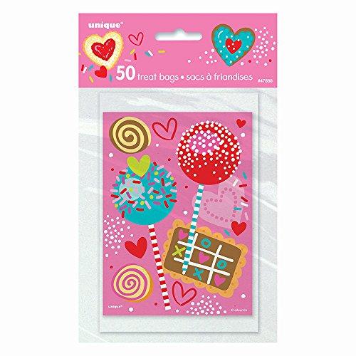 Sweet Valentine Goodie Bags, 50ct -