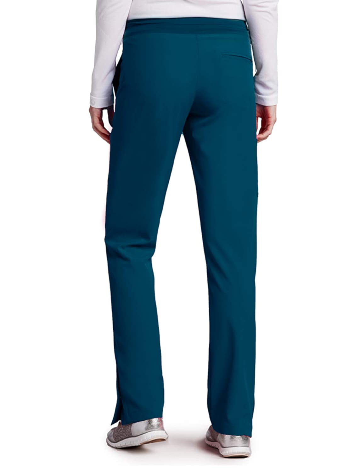 ff8f12cecd2 Amazon.com: Barco ONE 4-Pocket Cargo Track Pant for Women - 4-Way Stretch  Medical Scrub Pant: Clothing