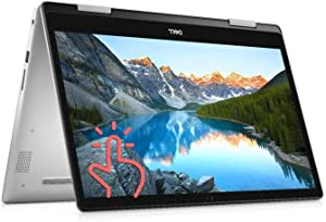 Dell Inspiron 15 5591 2-in-1 Series 15.6-inch FHD IPS LED Backlit Touchscreen Business Laptop, Intel Quad Core i5-10210U up to 4.2GHz, 8GB DDR4, 256GB PCIe SSD, HDMI, Bluetooth, 802.11AC, Windows 10