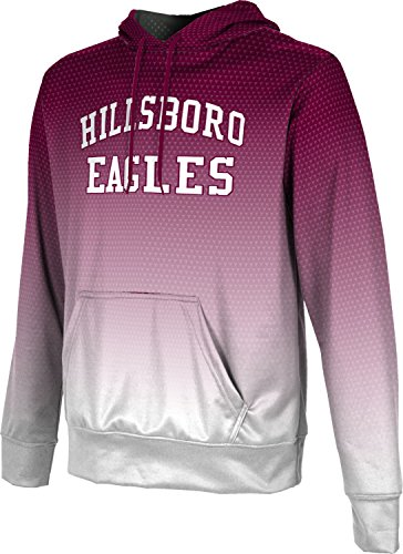 ProSphere Men's Hillsboro High School Zoom Hoodie Sweatshirt (Apparel) - 76645 Tx Hillsboro