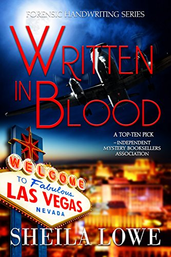 Book: Written In Blood - A Forensic Handwriting Mystery by Sheila Lowe
