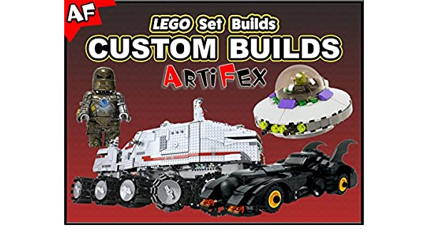 Amazon.com: Watch Clip: Lego Set Builds Custom Builds - Artifex | Prime Video