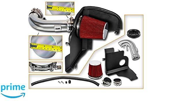 Cold Air Intake Kit Filter Fit 2014-2019 Silverado Sierra 1500 5.3L 6.2L V8 RD