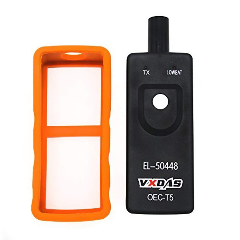 VXDAS EL-50448 TPMS Relearn Outil Auto Pression des Pneus Moniteur Capteur Outil pour GM//Opel Pneu R/éinitialiser