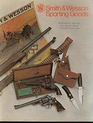 smith-wesson-sporting-goods-catalog-1974-shotgun-pistol-handgun-knife-air-gun