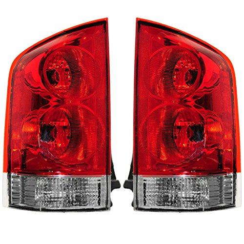 Brake Light Taillamp Taillight Tail Lamp Pair Set of 2 for 05-13 Nissan Armada