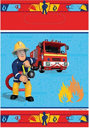 Fireman Sam Loot Bag - Pack of 8 (Party Supplies Uk)