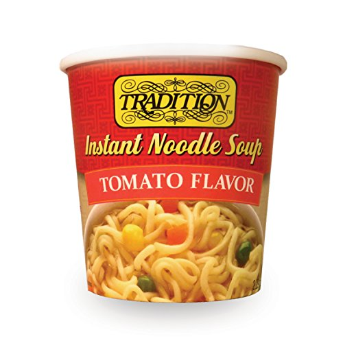 (Tradition Instant Noodle Soup Cup, Tomato, 2.29 Ounce (Pack of 12))