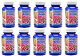 MaritzMayer Raspberry Ketone Lean Advanced Weight Loss Supplement 60 Capsules Per Bottle Ten Bottles