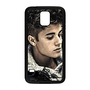 Happy PoP Star Justin Bieber Cell Phone Case for Samsung Galaxy S5
