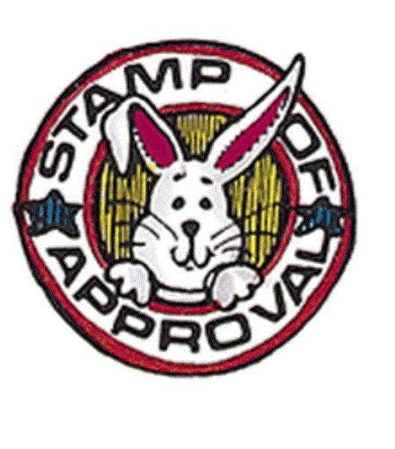 Center Enterprise D407'Bunny of Approval' Stamp