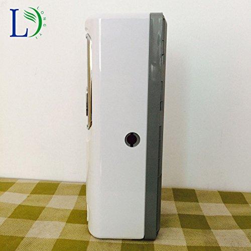 Mando a distancia Aire Ambientador automático LED aerosol pegamento dispensador montado en la pared Hotel aerosol 300 ml dispensador de perfume para el ...
