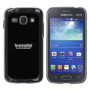 A-type Arte & diseño plástico duro Fundas Cover Cubre Hard Case Cover para Samsung Galaxy Ace 3 (Tu puedes hacer cualquier cosa)