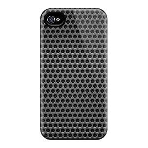 For Iphone 6 Phone Cases Covers(black Background Metal Hole)