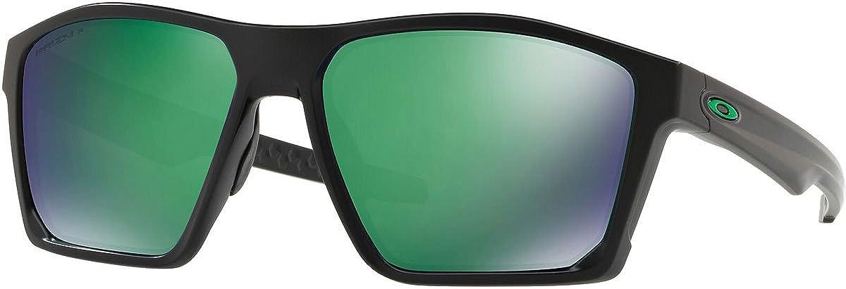 OAKLEY Targetline 939707, Gafas de Sol para Hombre, Negro (Matte Black/ Jade), 58