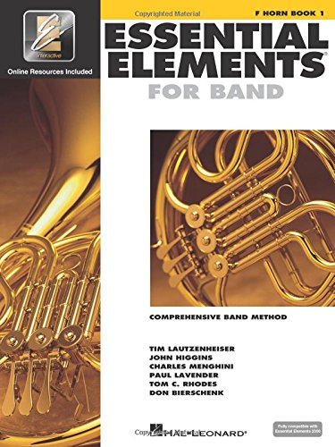 (Essential Elements for Band - F Horn Book 1 with EEi)