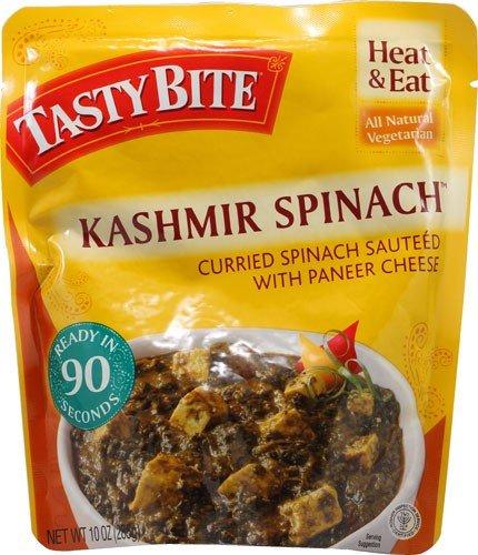 Tasty Bite Kashmir Spinach 10 oz. (Pack of 6) (Tasty Spinach Bite)