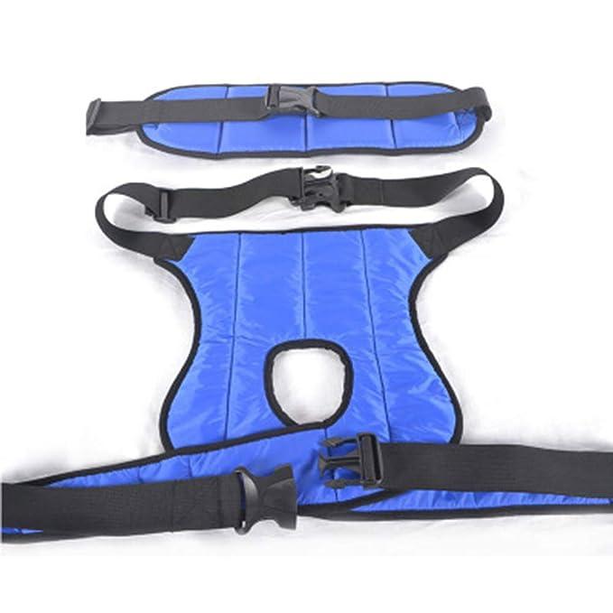 AA-SS-Seat Belts Sujeción de cinturón para Silla de Ruedas Soporte pélvico Un tamaño Adecuado para la Circunferencia de la Cintura 65-110cm Cuerpo: ...