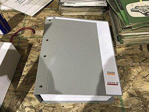 Case 550E, 550G Crawler Dozer Service Repair Shop Manual Book + Parts Catalog